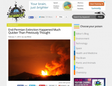 IFLScience article home page